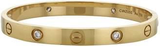 Cartier Love pink gold bracelet