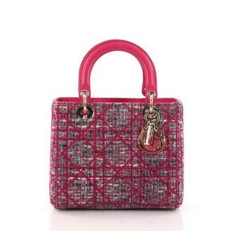 Christian Dior Lady tweed handbag