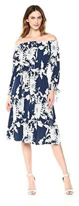 Maggy London Women's Artistic Line Jersey Off The Shoulder Dress