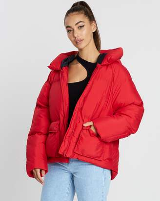 Missguided Hooded Ultimate Puffer Jacket