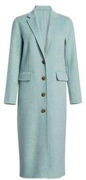 Elizabeth and James Russel Long Wool Coat