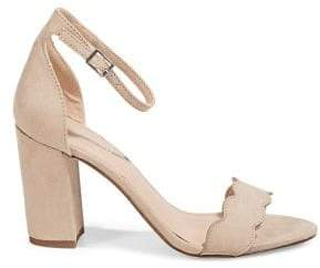 Madden-Girl Scalloped Heeled Sandals
