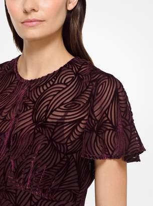 MICHAEL Michael Kors Velvet Devore Dress