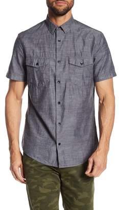 14th & Union Short Sleeve Oxford Woven Shirt