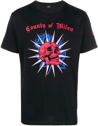 Marcelo Burlon County of Milan skull print T-shirt