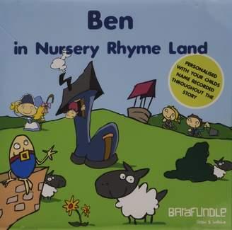 BabyCenter Barafundle Personalised Story CD Ben in Nursery Rhyme Land