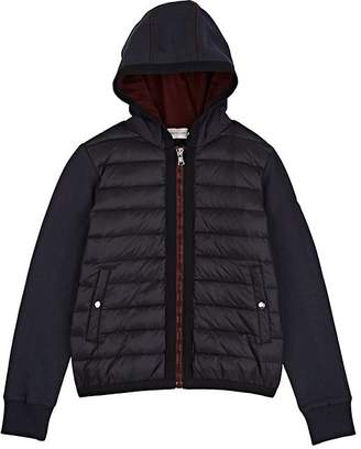 Moncler Kids' Down-Quilted Cotton Terry Jacket