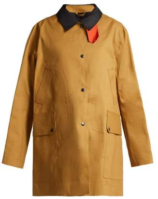 BEIGE La Fetiche - Yoko Waterproof Reversible Trench Coat - Womens