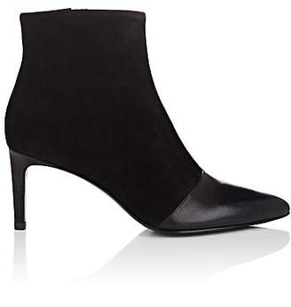 Rag & Bone Women's Beha Leather & Suede Ankle Boots - Black