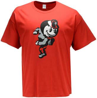 J America Men Ohio State Buckeyes Identity Logo T-Shirt 3X