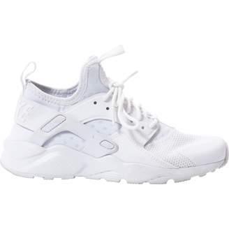 Nike Huarache White Leather Trainers