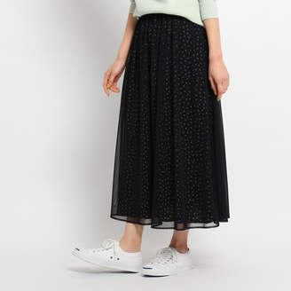 Dessin (デッサン) - デッサン 【洗える】チュールドットスカート
