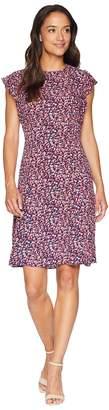 MICHAEL Michael Kors Flounce Sleeve Dress Women's Dress