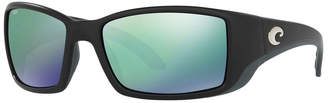 Costa del Mar Polarized Sunglasses, Blackfinp