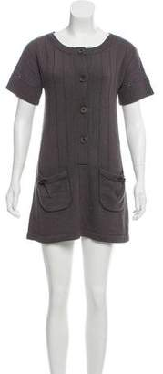 Mayle Short Sleeve Sweater Dress
