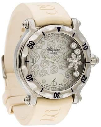 Chopard Happy Sport Happy Snowflake Watch