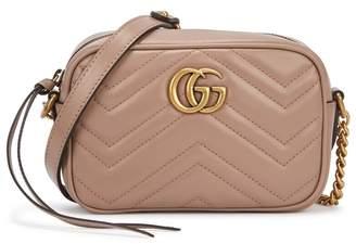 Gucci GG Marmont Mini Leather Cross