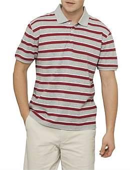 David Jones Stripe Polo