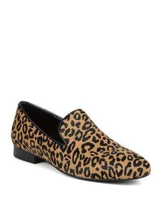 Donald J Pliner Luxx Leopard Calf Hair Loafers