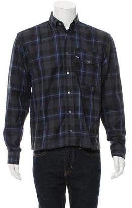 Gosha Rubchinskiy Flannel Button-Up Shirt w/ Tags