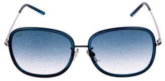 Tod's Round Gradient Sunglasses