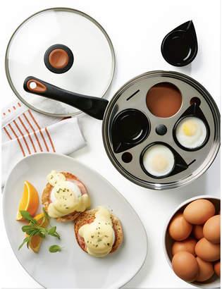 """Farberware Glide Copper Ceramic Non-Stick 8"""" Egg Poacher & Lid"""