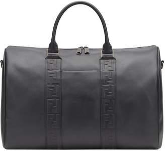 Fendi embossed logo duffel bag