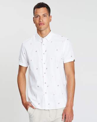 Ted Baker Aloha Print SS Shirt