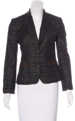 Kiton Cashmere Check Blazer w/ Tags
