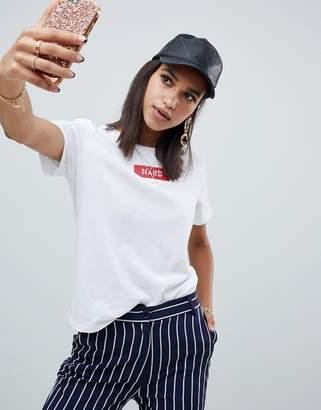 NA-KD original t-shirt in white