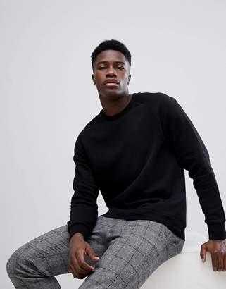 Weekday Black Paris Sweatshirt