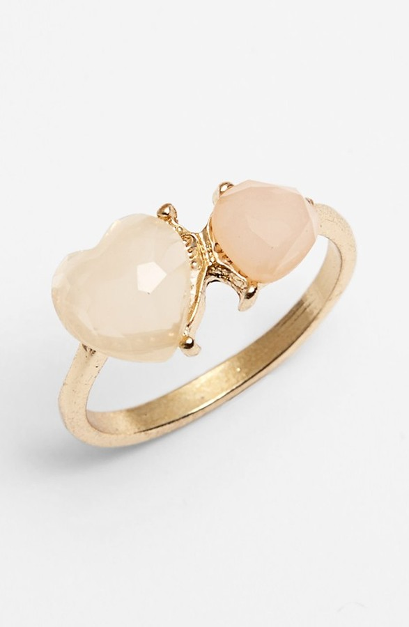 Statements by DCK Double Heart Stone Ring (Juniors) (Online Only)