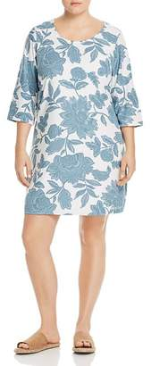 Junarose Plus Amia Floral-Print Shift Dress