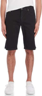 Love Moschino Black Slim Fit Bermuda Shorts