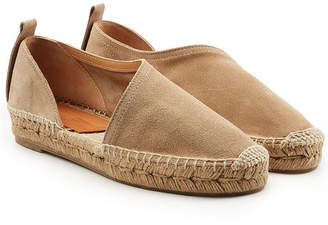 Rag & Bone Delos Suede Espadrilles with Cut-Out Side