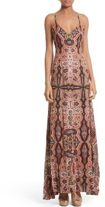 Women's Alice + Olivia Alves Maxi Dress $395 thestylecure.com
