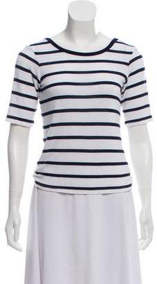 3x1 NYC Stripe Knot-Accented Top