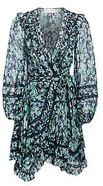 Zimmermann Women's Moncur Wrap Mini Dress