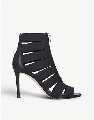 320af23b1ff MICHAEL Michael Kors Margaret leather and textile sandals