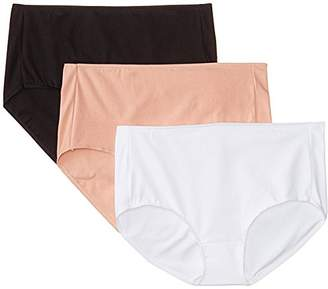 Hanes Women's Everyday Smooth Brief Panty (Pack of 3)
