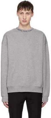 Acne Studios Grey Flogho Sweatshirt