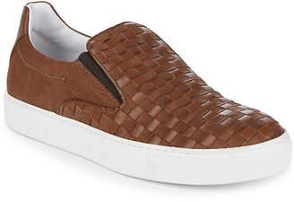 Bacco Bucci Woven Leather Sneaker