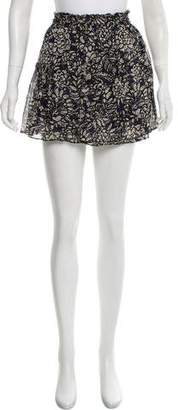Apiece Apart Silk Mini Skirt