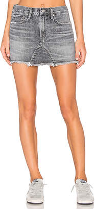A Gold E AGOLDE Jeanette Mini Skirt.