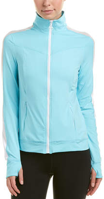 Trina Turk Recreation Mesh-Trim Jacket