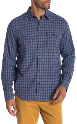 Lucky Brand Check Print Shirt