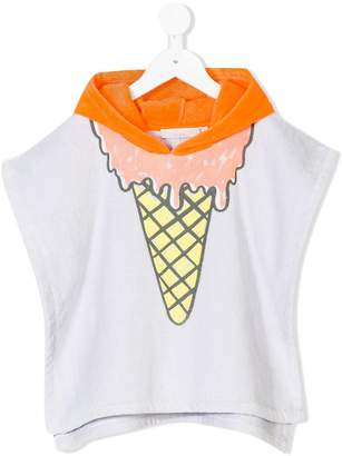 Stella McCartney Chuckle ice cream poncho