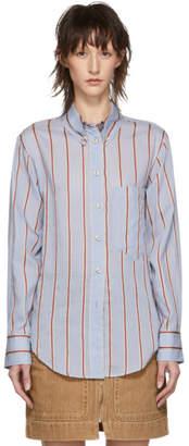 Etoile Isabel Marant Blue Yvana Shirt