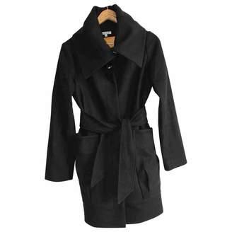 Les Petites Black Wool Coat for Women