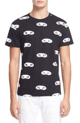 MAISON KITSUNÉ Fox Eye Print Cotton T-Shirt